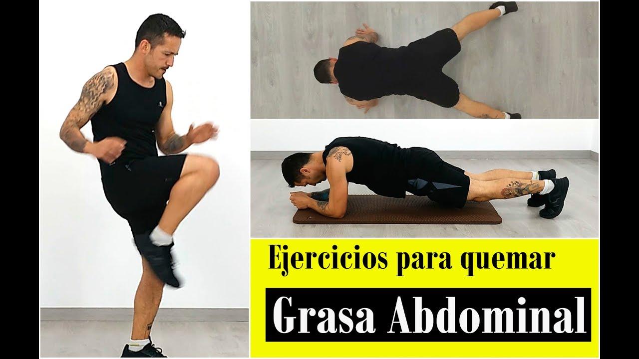 ejercicios para quemar grasa del abdomen hombres