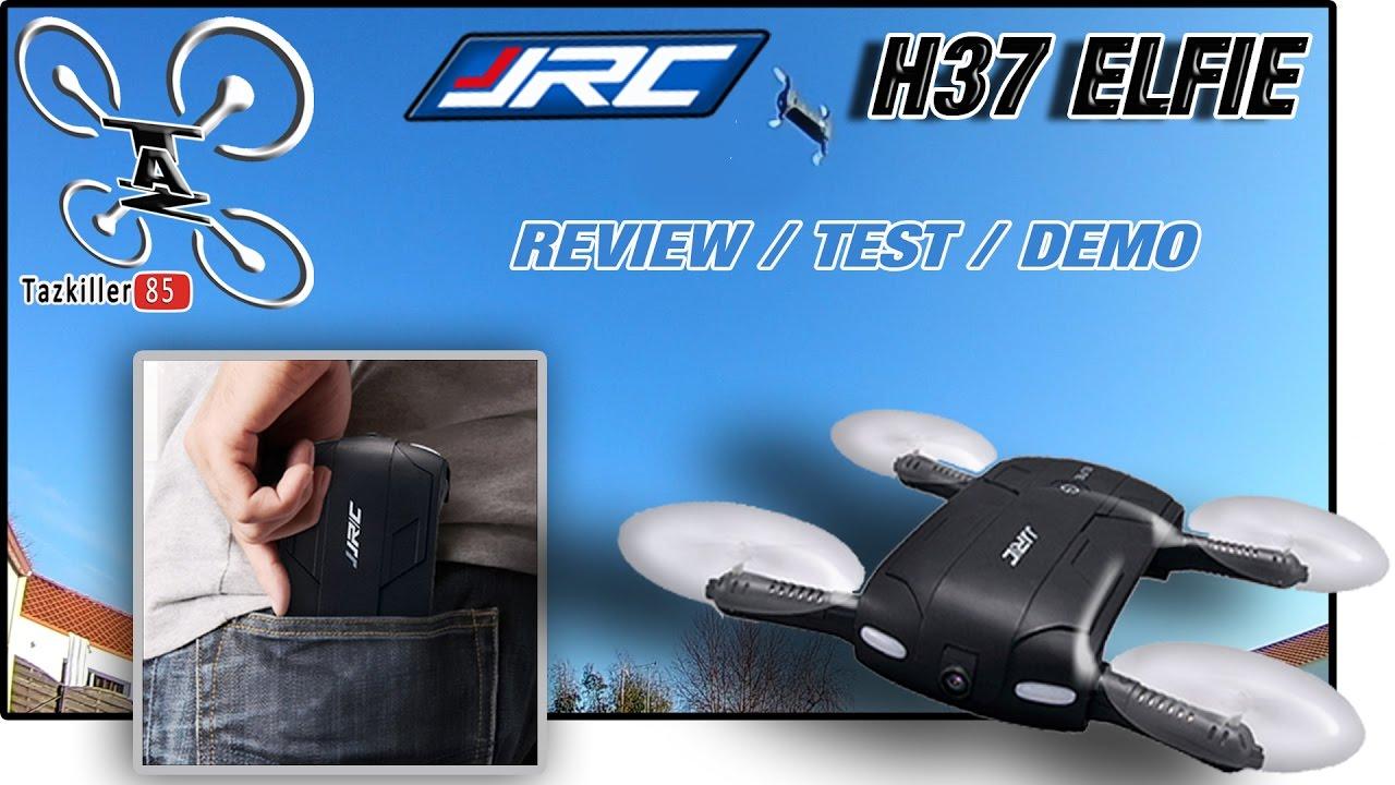 JJRC H37 Elfie Test Comparison Review