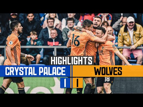 Jota earns a point for ten-man Wolves! Crystal Palace 1-1 Wolves | Highlights