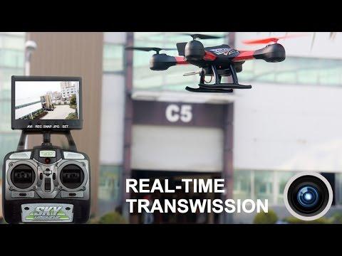 Дрон Sky HawkEye HM1315S с 5.8G FPV монитор за гледане в реално време 23