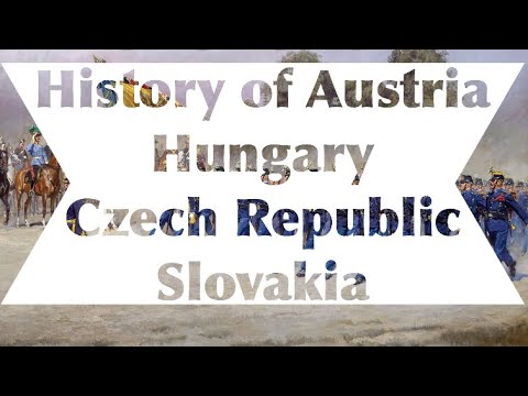 History of Austria, Hungary, Czech Republic and Slovakia Map Timelapse [ 500-2018 ]
