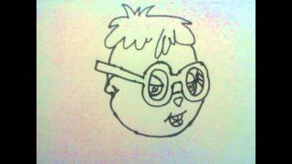 How to Draw Simon from the Chipmunks