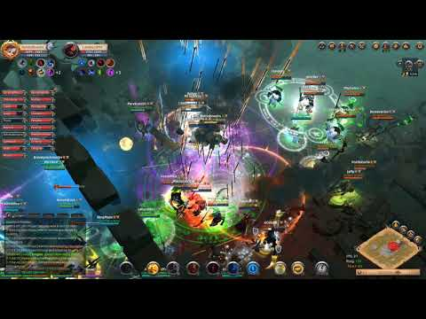 Blue Army vs Red Army vs Camlann World Boss