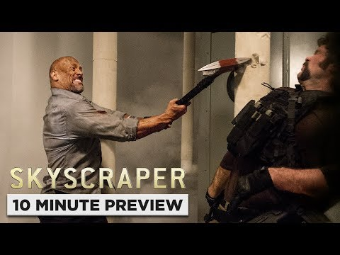 Skyscraper | 10 Minute Preview | Own it Digital Now, 10/9 on Blu-ray, DVD