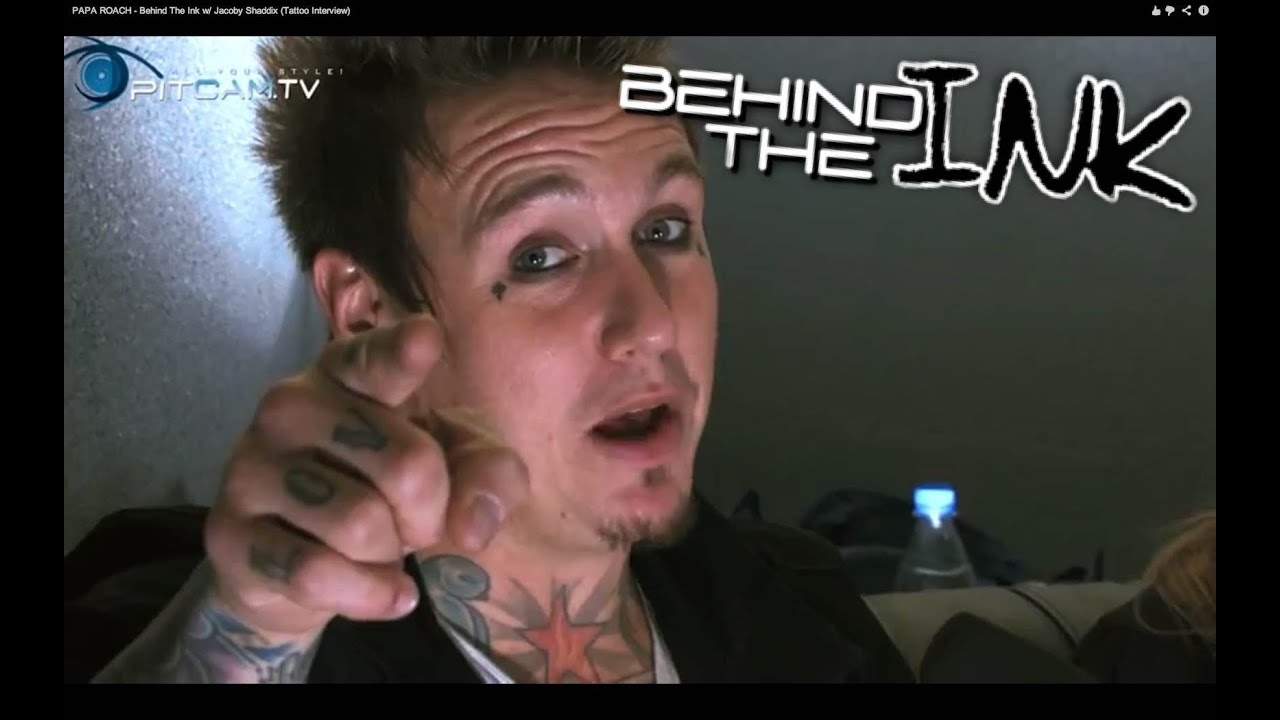 ... ROACH - Behind The Ink w/ Jacoby Shaddix (Tattoo Interview) - YouTube