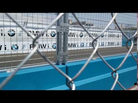 Formula E Brooklyn 2017. Mid-race action on 7/16/17