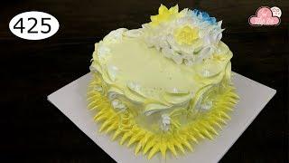 chocolate cake decorating bettercreme vanilla (425) Học Làm Bánh Kem Đơn Giản Đẹp - Tim Vàng (425)