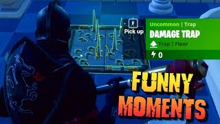 CRAZY CLUTCH SPIKE TRAP KILL - Best Kills & Funny Moments Montage | Fortnite Battle Royale