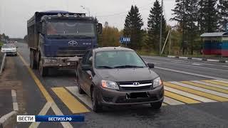 В Сокольском районе автомобиль сбил пенсионерку