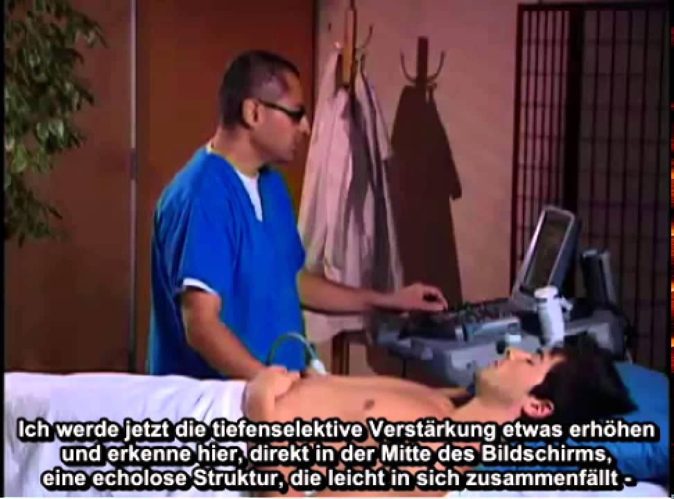 Anleitung: Periphere Armvenen für Gefäßzugang mit Ultraschall - YouTube