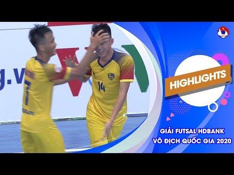 Highlights   Quảng Nam - Vietfootball   Futsal HDBank VĐQG 2020   VFF Channel