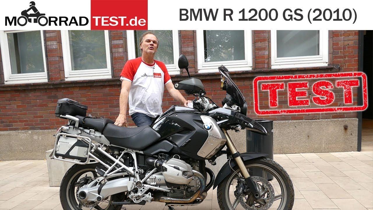 BMW R 1200 GS - K25 Bj. 2010   TEST (deutsch)