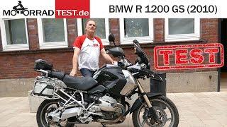 Bmw R 1200 Gs K25 Bj 2010 Test Deutsch Youtube