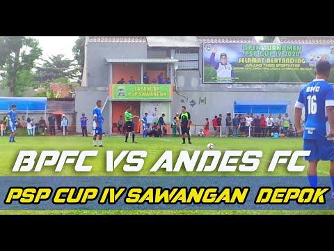 BPFC (1) VS ANDES (0) TURNAMEN PSP CUP IV SAWANGAN DEPOK 2020 JAWA BARAT