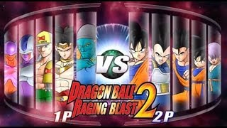 Dragon Ball Z Raging Blast 2 - Movie Madness