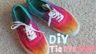 DIY: Tie Dye Vans!