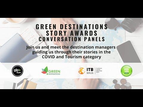 2021 Green Destinations Story Awards Conversation Panel Covid & Tourism Category