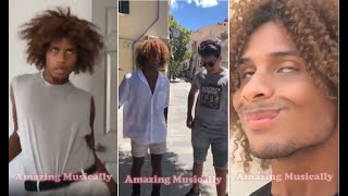 The Best Musically Collection NEW  Dominic Toliver Funny Musical ly ...