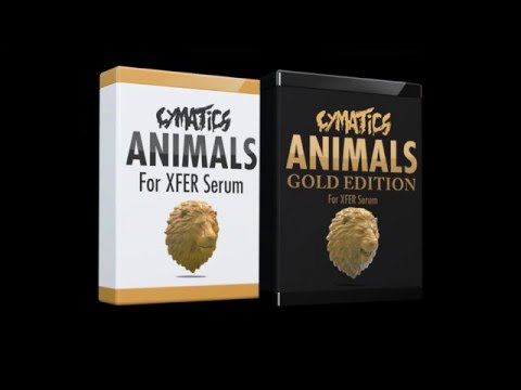 "TRAP Y DUBSTEP ANIMAL - Pack de presets para SERUM - ""ANIMALS"" - CYMATICS - Review/Análisis"