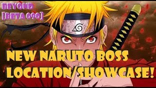 NEW NARUTO BOSS LOCATION/SHOWCASE UPDATE 090 ROBLOX NRPG- BEYOND