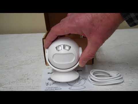 Programmable MP3 Infrared Motion Detector Sensor Alarm