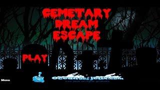 Cemetary Dream Escape Walkthrough (OceanDesJeux)