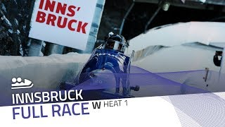Innsbruck | BMW IBSF World Cup 2019/2020 - Women's Bobsleigh Heat 1 | IBSF Official