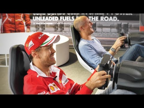 Racing Sebastian Vettel: Could I Be An F1 Driver?