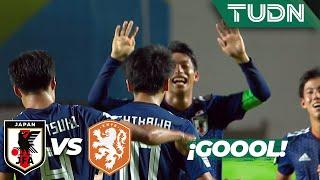 ¡Nishikawa anota desde los 11 pasos! | Japón 3 - 0 Holanda | Mundial Brasil Sub 17 - J 1 | TUDN