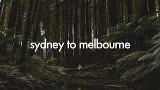 SYDNEY TO MELBOURNE ROAD TRIP