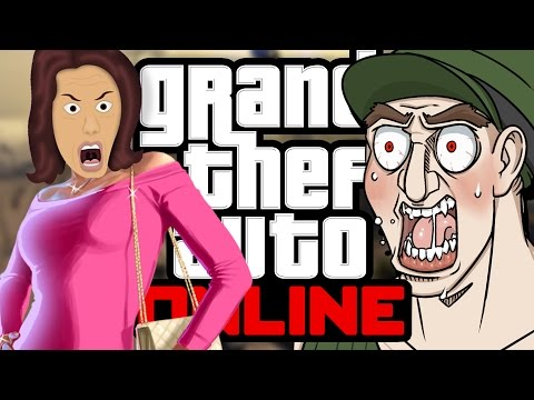ANGRY MOM AND DRILL SERGEANT IN PUBLIC GTA ONLINE LOBBIES!