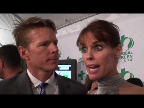 Alexandra Paul & Ian Murray Interview By Ken Spector at 8th Annual Global Green Pre-Oscar Party