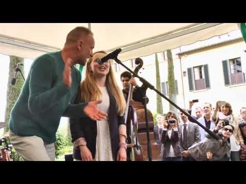 JAMESSUCKLING.COM - Isabel Suckling & Sting - Englishman In New York - Live @ Divino Tuscany