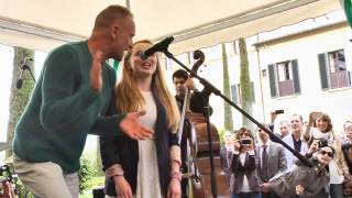JAMESSUCKLING.COM - Isabel Suckling & Sting - Englishman In New York - Live @ Divino Tuscany