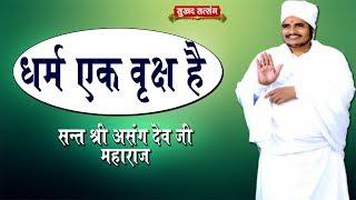 धर्म एक वृक्ष है || Sant Shri Asang Dev Ji Maharaj || सुखद सत्संग