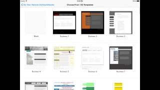 Create web page hyperlinks and navigate linked pages through Web Preview using HTML Egg Pro for iPad