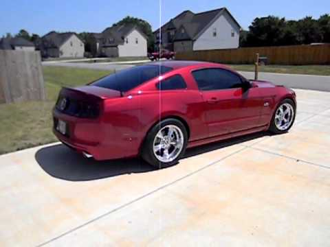2013 Mustang 5 0 Red Candy Metalic Youtube