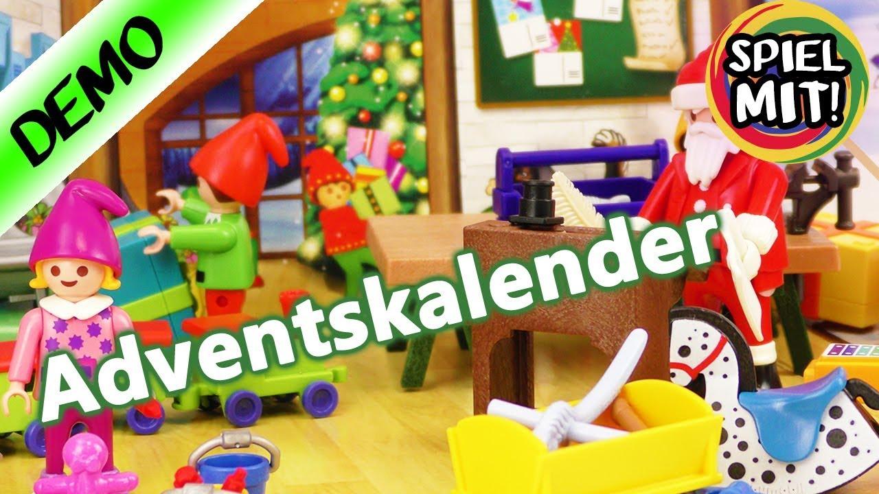PLAYMOBIL® Christmas Adventskalender Wichtelwerkstatt 9264