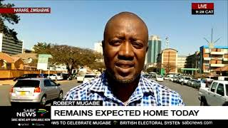 Robert Mugabe | Body expected home on Wednesday