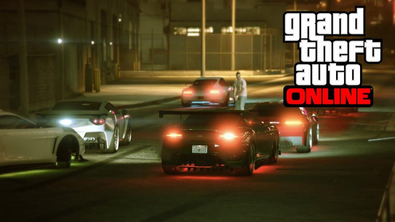 Gta online car meets ps4
