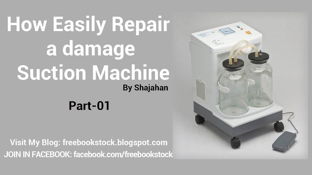 Kawasaki Suction Machine