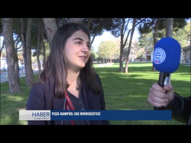 Ege Üniversitesi TV Haber Bülteni 15 Kas?m 2018
