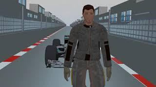Animação da Fórmula1 F1 # 1   Falando do grande prêmio do Brasil