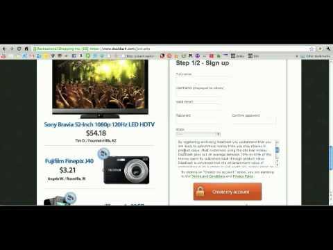 Deal Dash Com Tvs >> Dealdash Is Unfortunately A Scam Kinda Youtube
