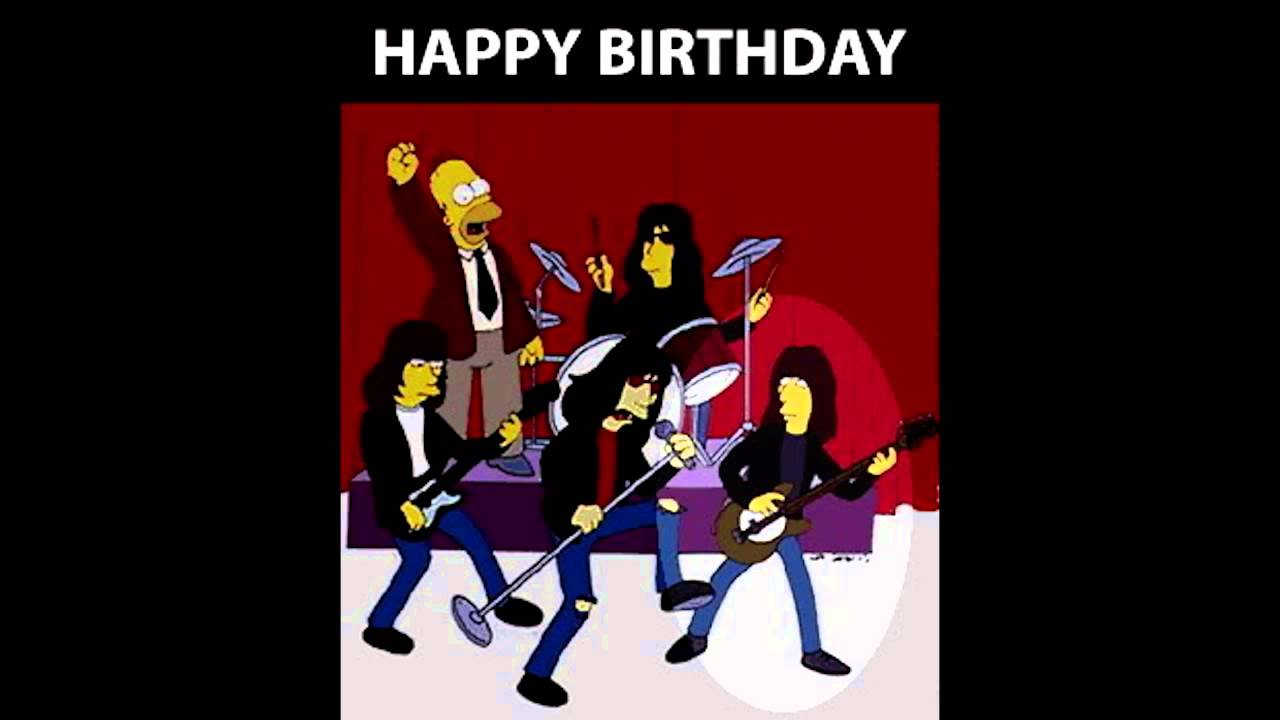 Happy Birthday Rock And Roll Cake