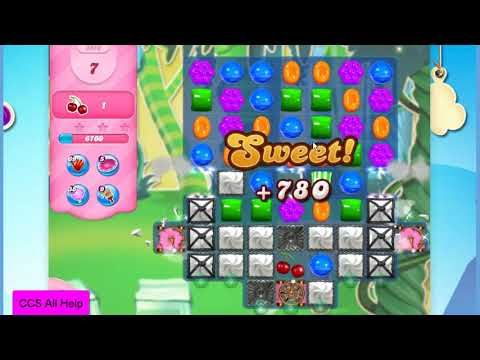 Candy Crush Saga Level 2959 18 moves by Cookie