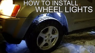How to Install Wheel Well Lights