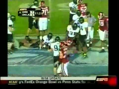 Oklahoma Sooners vs. #6 Oregon Ducks - 2005 Holiday Bowl