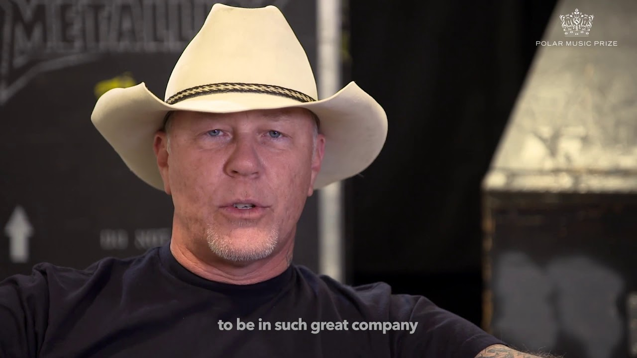james hetfield on receiving the polar music prize 2018 youtube. Black Bedroom Furniture Sets. Home Design Ideas