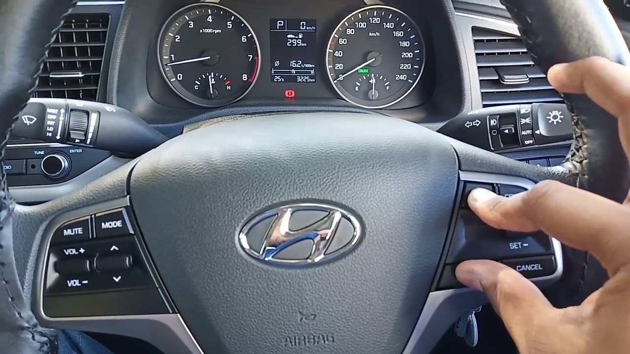 Change Temperature Parameter In Hyundai Elantra Car Dashboard Youtube